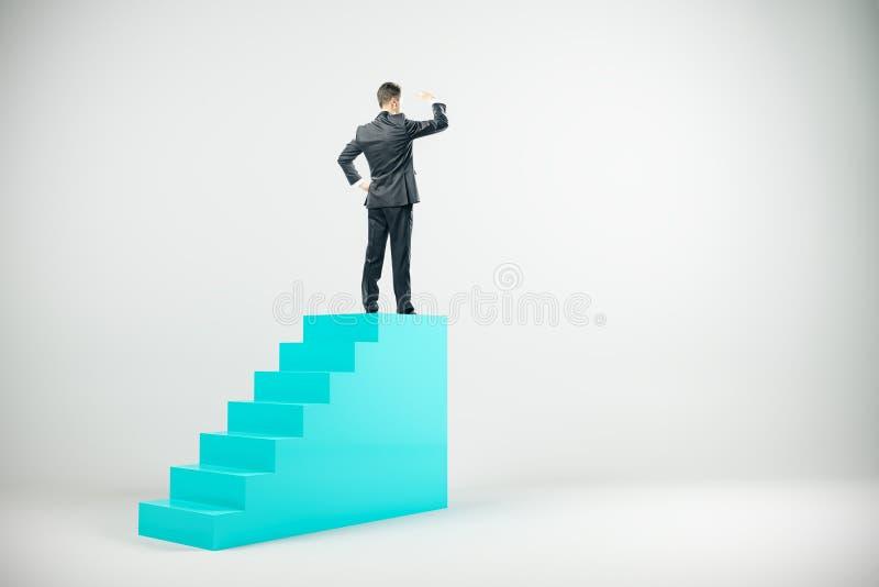 Karriere- und Forschungskonzept lizenzfreie abbildung