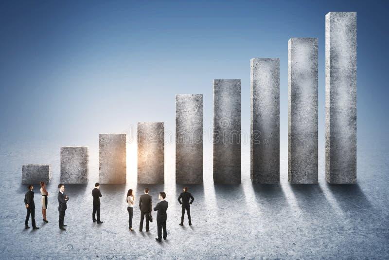 Karriere- und Wachstumskonzept lizenzfreies stockfoto