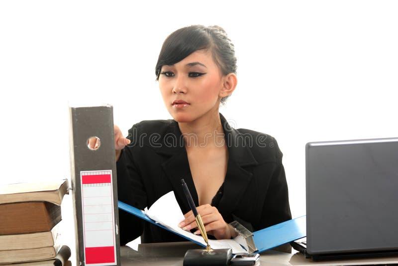Karrierefrau lizenzfreies stockbild