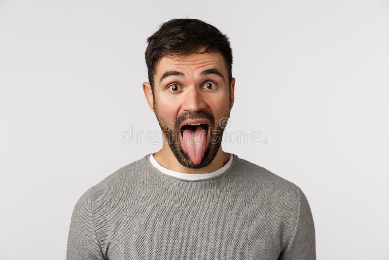 Zungenbelag grauer Graue Beschichtung
