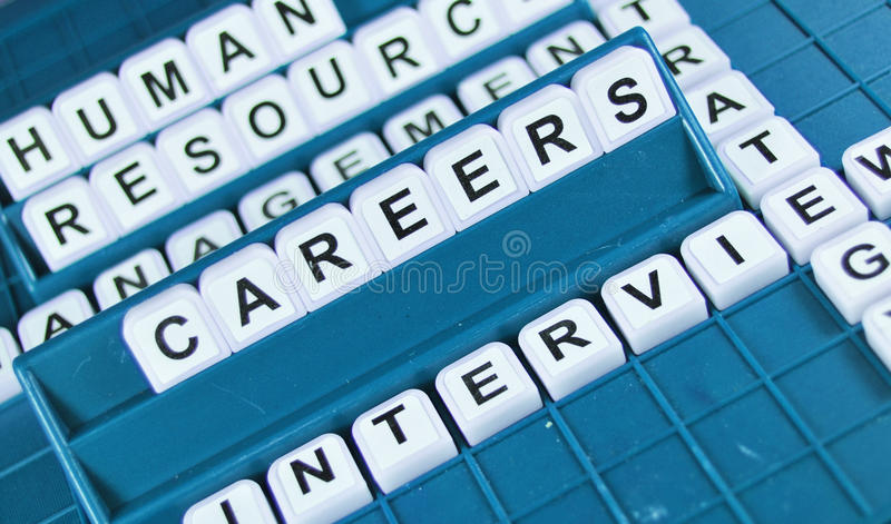 Karrieren lizenzfreies stockbild