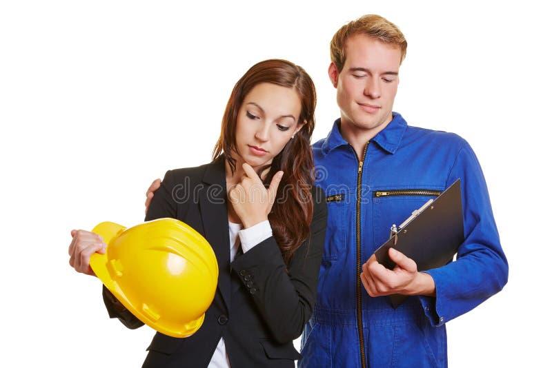 Karriereveränderung mit Arbeitskraft stockbild