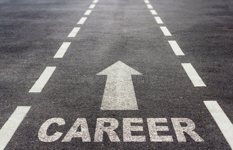 Karrierewachstumskonzept lizenzfreie stockbilder