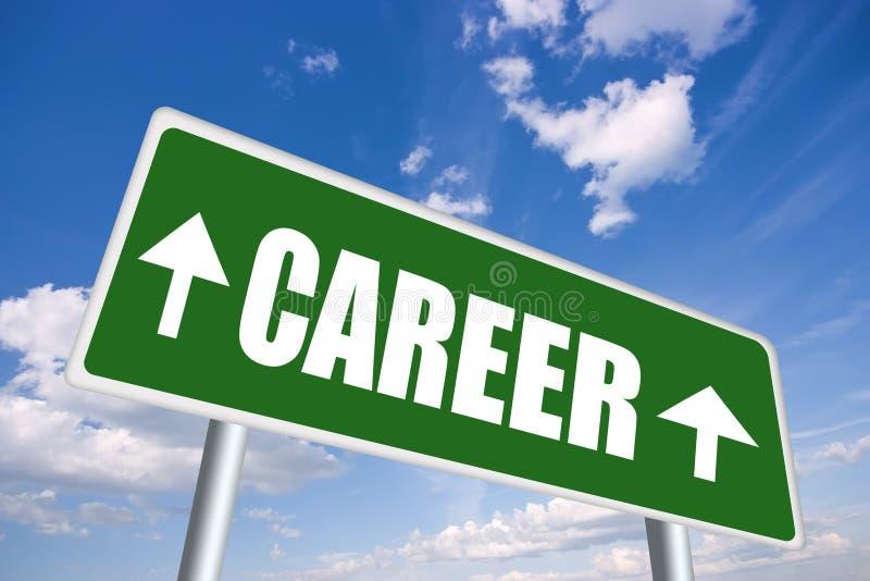 Karrierezeichen lizenzfreie abbildung