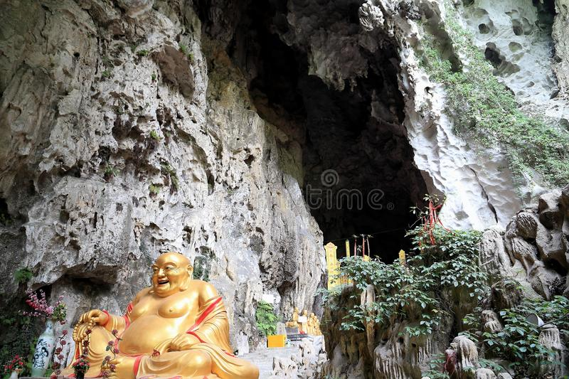 Karst cave , the dragon palace in guizhou , china. Photo taken on: May, 2014 stock images