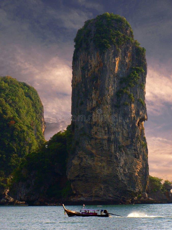 Karst en het Onweer van het kalksteen stock foto