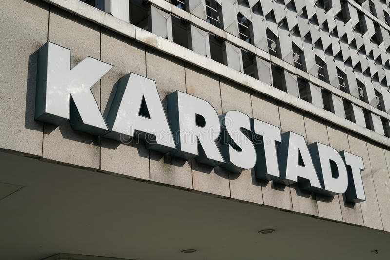 Karstadt стоковое фото rf