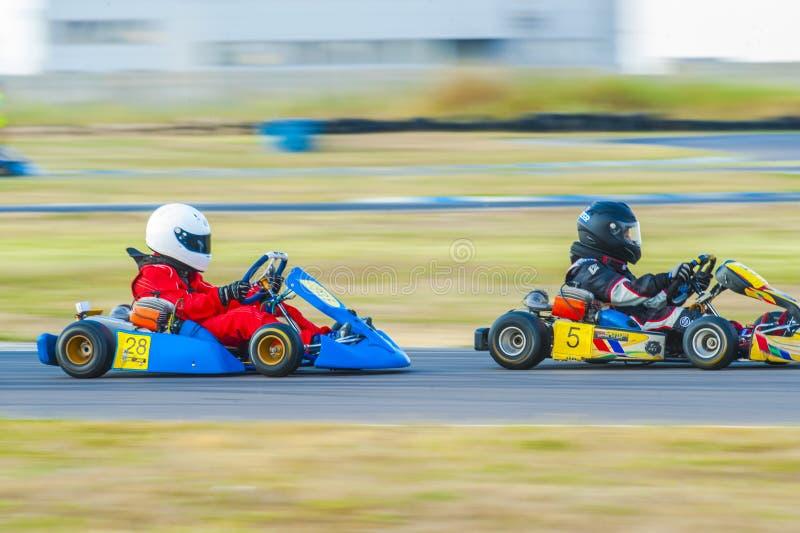 Kart Pilots Editorial Image