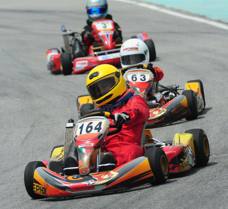 Download Kart Racing editorial stock image. Image of racer, number - 10551029