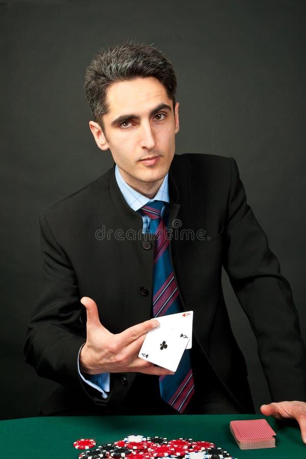 kart układ scalony hazardzista zdjęcia royalty free