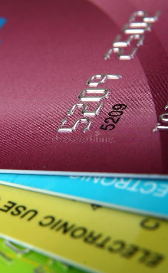 kart zakończenia kredyt obraz royalty free