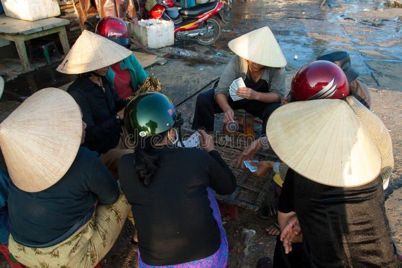 Download Karta Do Gry W Rybim Rynku Hoi, Wietnam Fotografia Editorial - Obraz złożonej z miejsce, ląg: 28974937