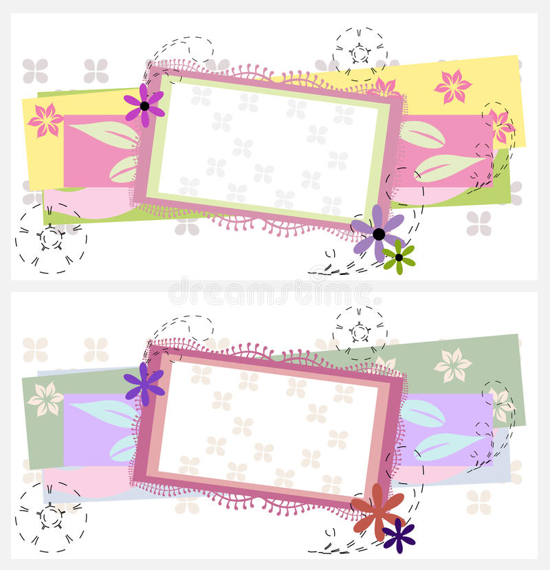 karta projekt dwa ilustracji