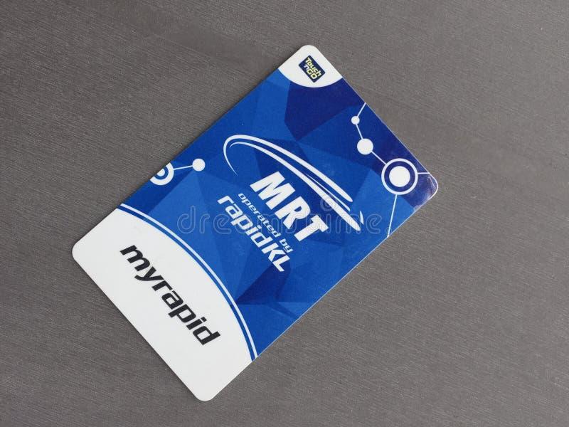 Karta tranzytowa zdjęcie stock