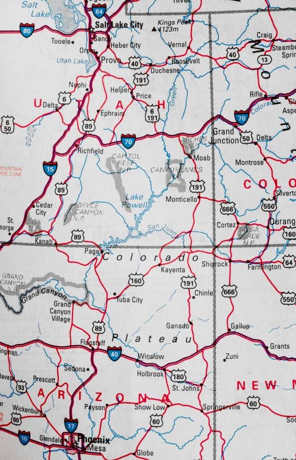 Karte stockbilder