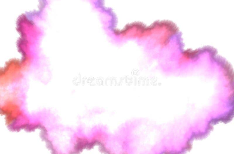 Karte auf rosa Hintergrund Wei?e Farbe Moderner Dekor Sch?ner abstrakter Begriff vektor abbildung