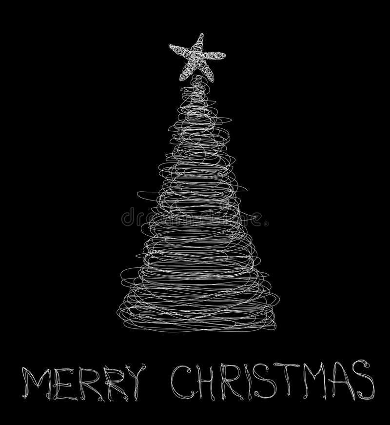 Karte der frohen Weihnachten lizenzfreie stockbilder
