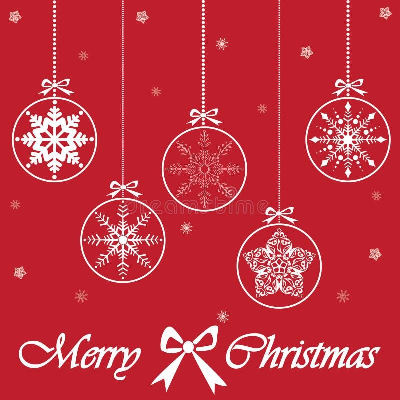 Download Karte Der Frohen Weihnachten, Vektor Vektor Abbildung - Illustration von elegant, dekoration: 27731295
