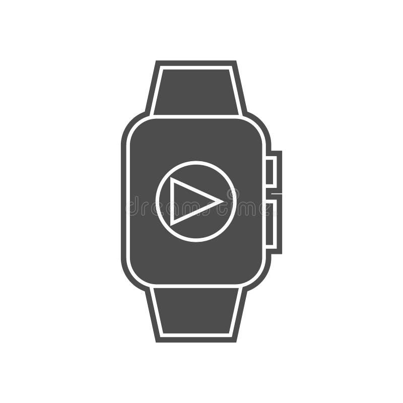 Karte mit Herzikone Element von minimalistic f?r bewegliches Konzept und Netz Appsikone Glyph, flache Ikone f?r Websiteentwurf un stock abbildung