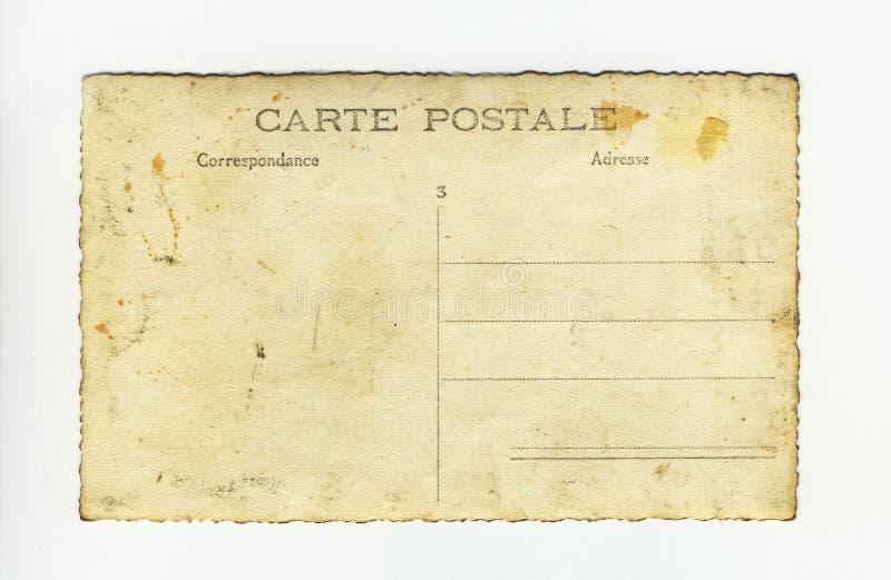 Karte postale lizenzfreie stockfotos