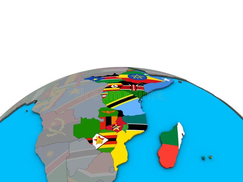 Binnenstaat Im Südlichen Ostafrika