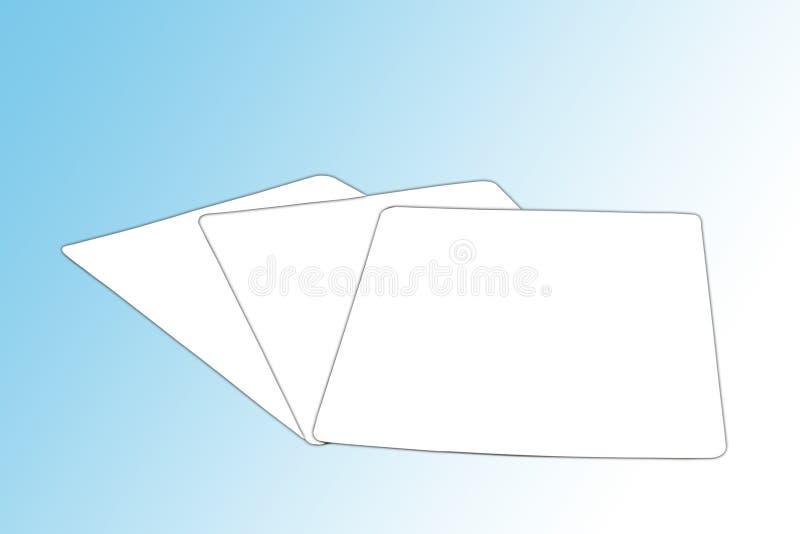 Karten lizenzfreie stockfotografie