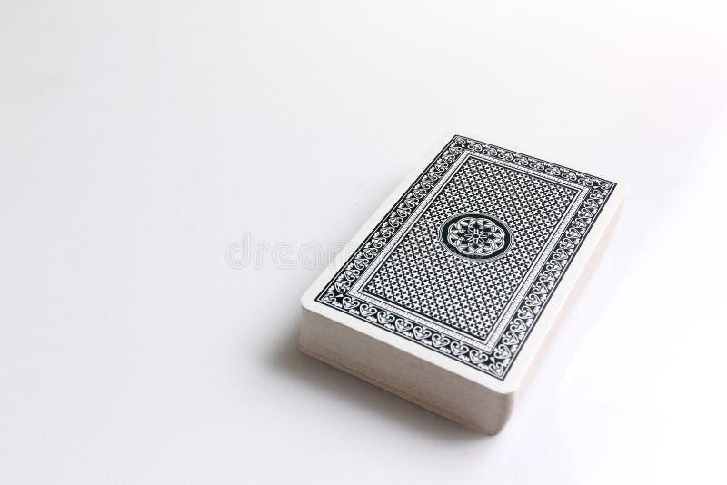 Kartenstapel lizenzfreies stockfoto