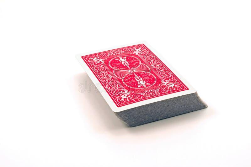 Kartenstapel stockfotografie