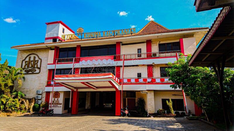 Kartika Kusumasari Hotel, Surakarta, Indonezja obrazy stock