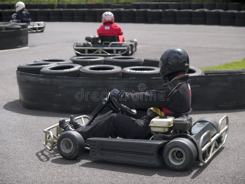 Karting stock photography