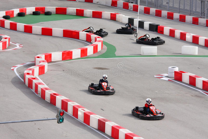 Karting stock photos