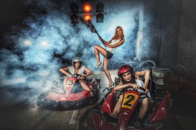 Karting photo stock