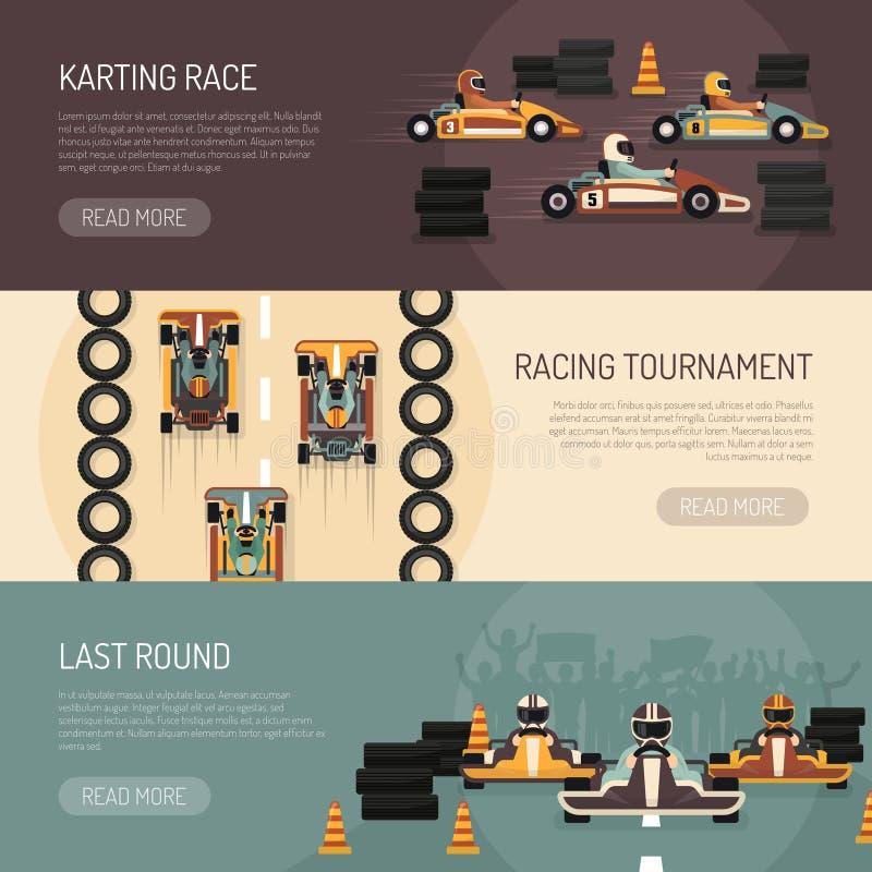 Karting Stock Vector. Illustration Of Circuit, Adventure