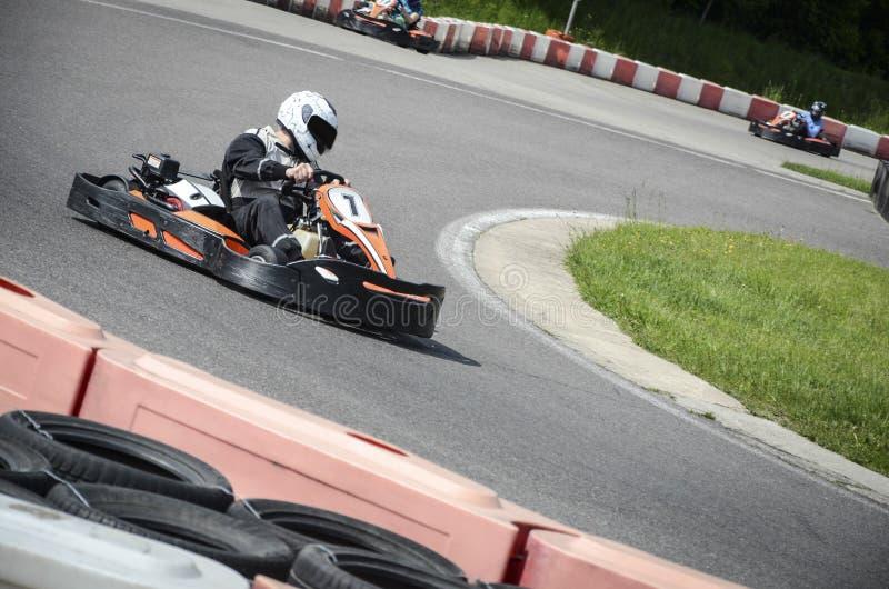 Karting sport royaltyfri fotografi