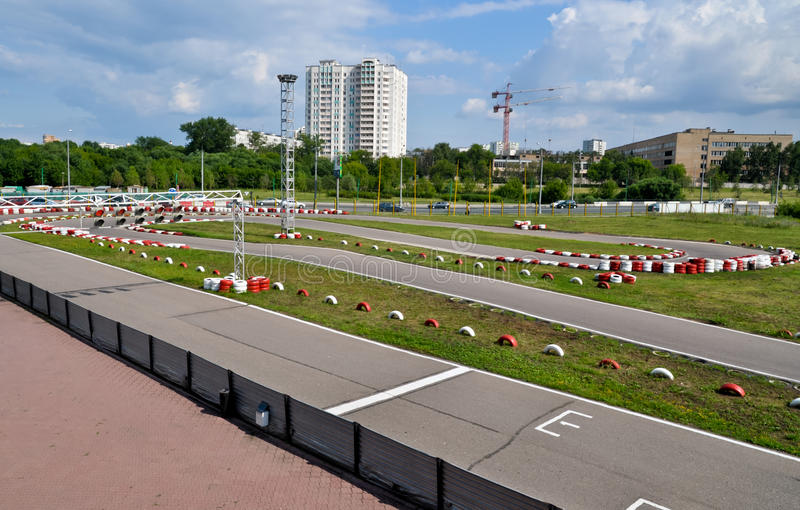 Download Karting track stock photo. Image of line, people, motor - 20590282