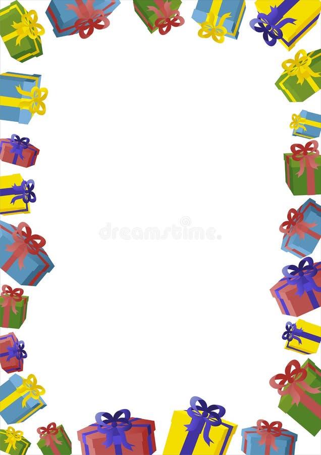 kartkę na urodziny royalty ilustracja