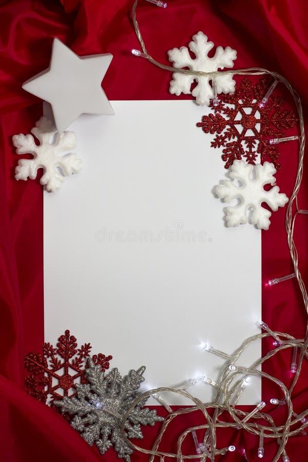 Kartka bożonarodzeniowa obrazy royalty free