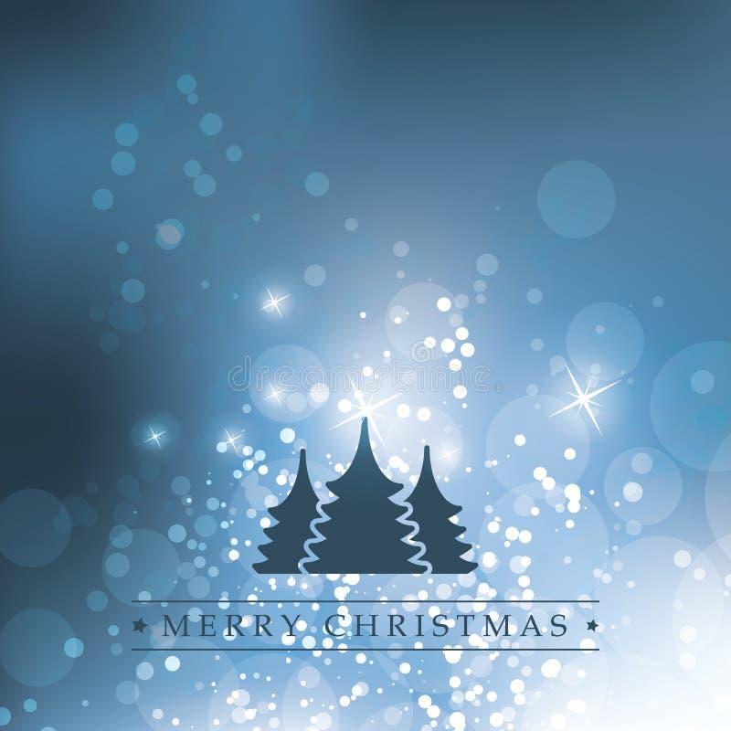 Kartka Bożonarodzeniowa ilustracja wektor
