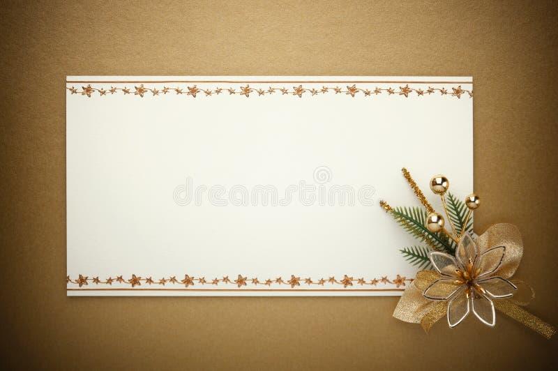 Kartka bożonarodzeniowa target1197_0_ fotografia stock