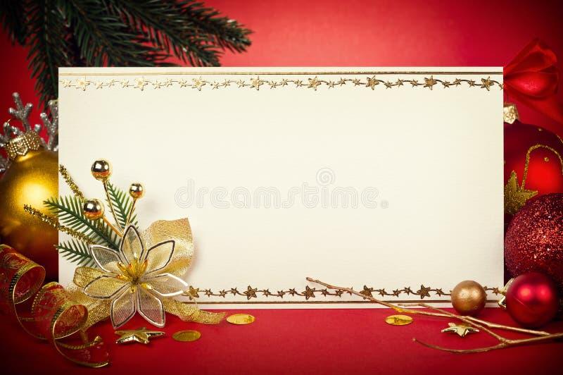 Kartka bożonarodzeniowa target741_0_ obrazy stock