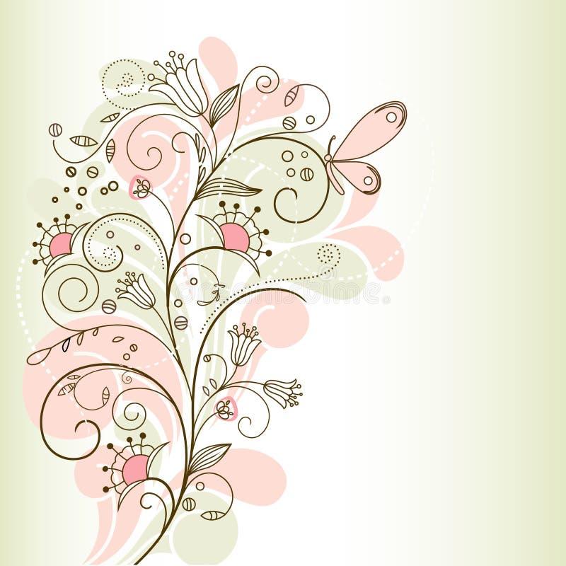 Kartka z pozdrowieniami ilustracja wektor
