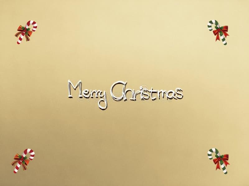 Kartki bożonarodzeniowa zaproszenie Santa zdjęcie stock