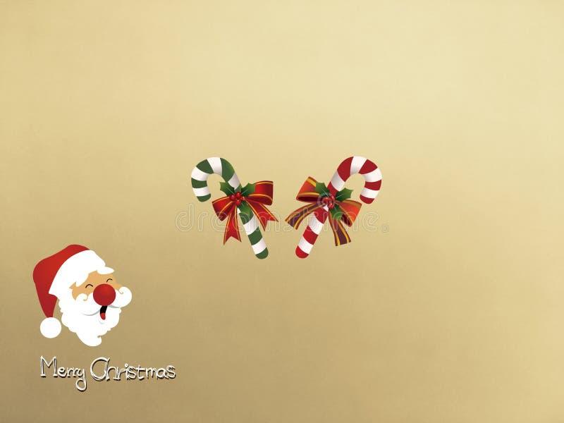 Kartki bożonarodzeniowa zaproszenie Santa fotografia royalty free
