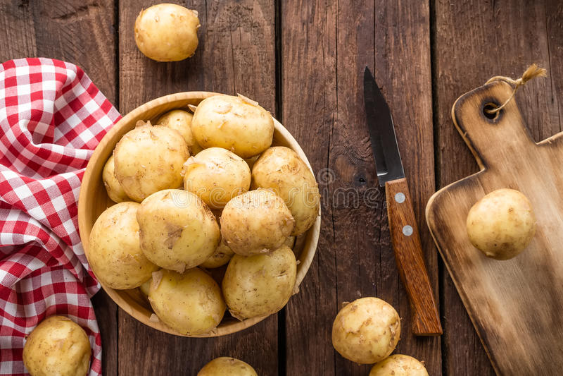 Kartoffel lizenzfreies stockfoto