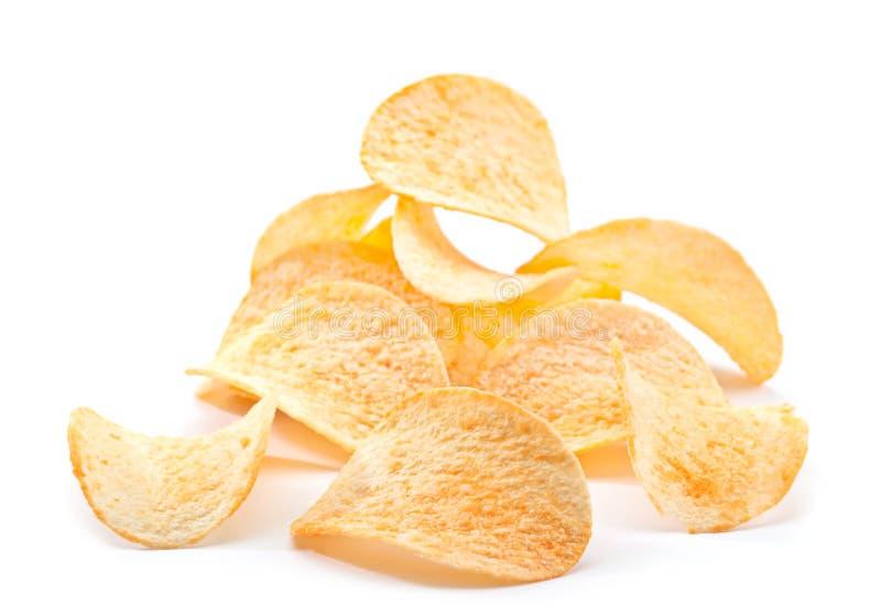 Kartoffelchipimbiß lizenzfreie stockfotografie