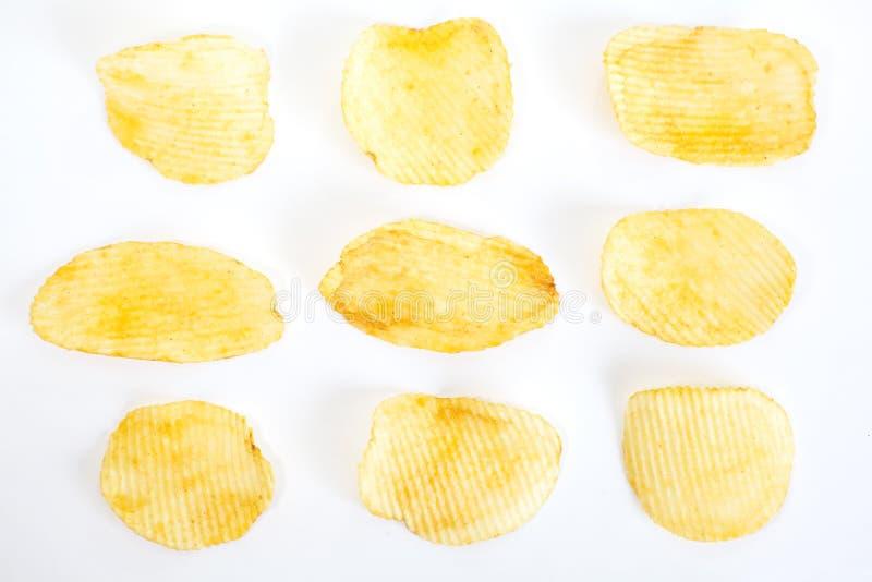 Kartoffelchips lizenzfreie stockbilder