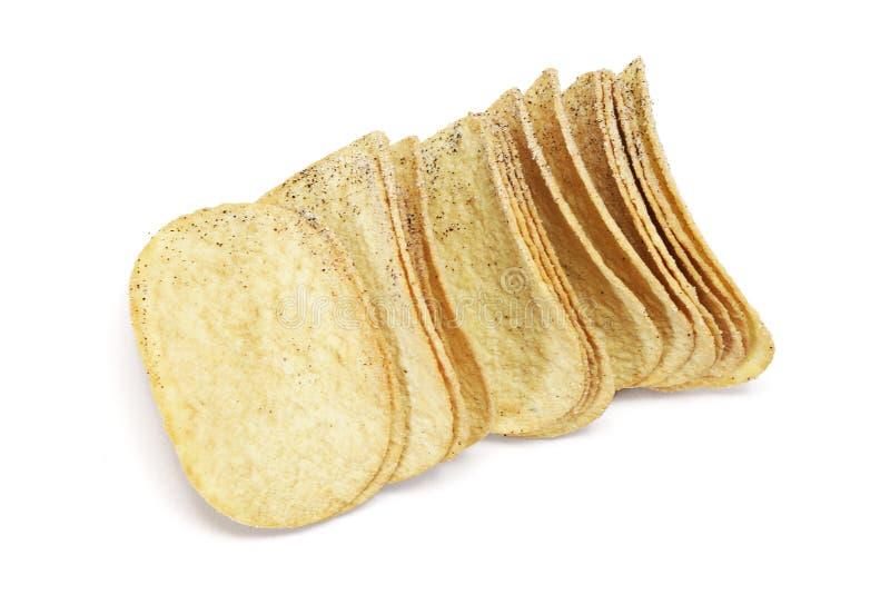Kartoffelchips lizenzfreies stockfoto