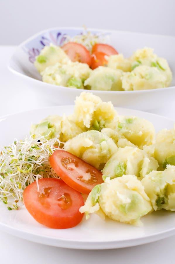 Kartoffelsalat stockfotografie