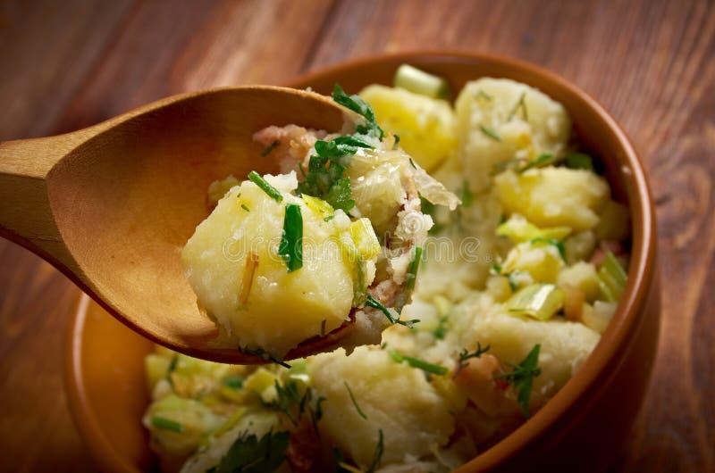 Kartoffelsalat imagen de archivo libre de regalías