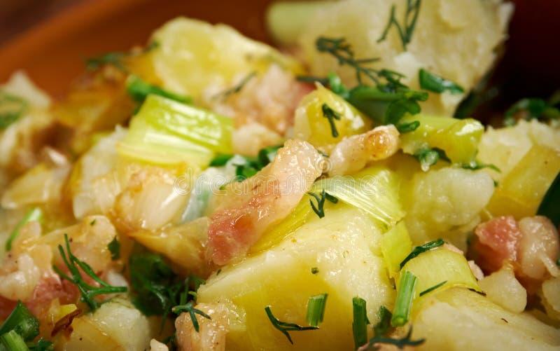 Kartoffelsalat imagen de archivo